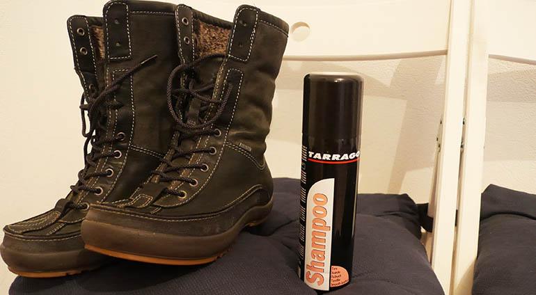 шампунь для обуви tarrago