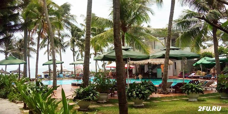 отель Canary бассейн
