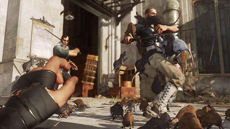 игра Dishonored 2 крысы