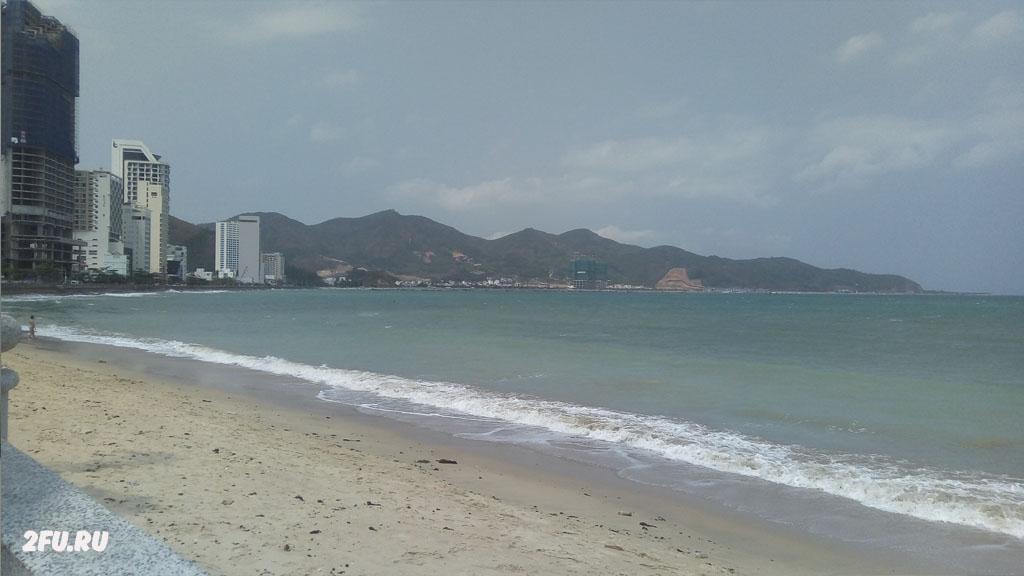 море пляж вьетнам нячанг