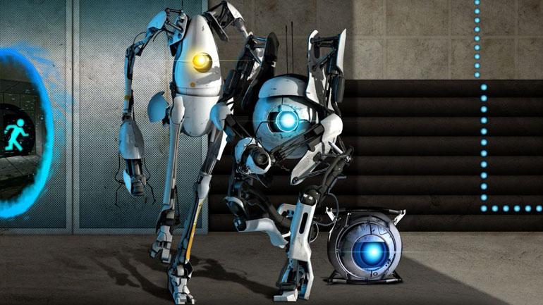 роботы из portal 2