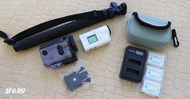 комплект Sony HDR-AS300