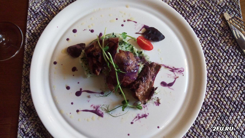 индейка в соусе из имбиря