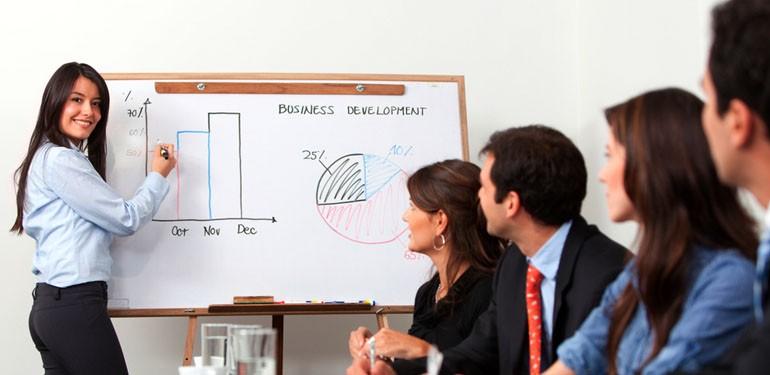 презентация бизнеса