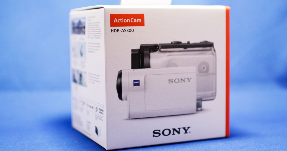 камера Sony HDR-AS300